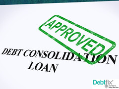 Debt Consolidation - Debt Fix (debtfix) Tags: stamp loan approved agreement application authority finance credit approval approve seal lending lender borrowing borrower debt consolidation consolidate loans consolidated