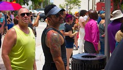 Guy's at Event (LarryJay99 ) Tags: pulseevent2017westpalmbeach florida people men tattoos musculararms tanktops peekingpits peekingnipples sunglasses glasses face facialhair