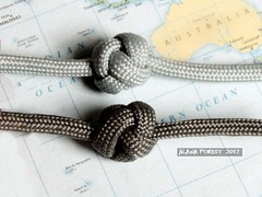 4x3 knots (A L A N A) Tags: onestrand 6 paracord australia button knot single strand паракорд facet узел талреп 4x3 turkshead bight 4lx3b 结 terminal stopper monkey ringknot ring cylindrical cylinder queensland knots footrope thk facets бриллиант alana forest alanaforest