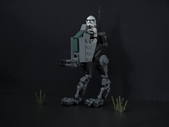 Custom Republic AT-RT (ruleyourgalaxy) Tags: lego star wars custom atrt phase2 clone p2 dark times