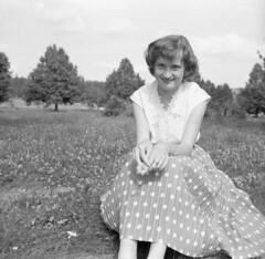 Summertime 1957 (rotabaga) Tags: finland svartvitt blackandwhite bw bwfp mellanformat mediumformat 120 1957 nostalghia vintage