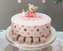 Aguardando a chegada da Laura - Chá de Bebê (Elaine Russo - Delizie! Arte com Açúcar) Tags: baby shower chá de bebe urso bear