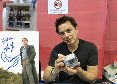 The story of Cpt. Jack Harkness (noggy85) Tags: lego minifigures comiccon stuttgart captainjackharkness malcolmmerlyn johnbarrowman scottishjohn scotland doctorwho torchwood arrow