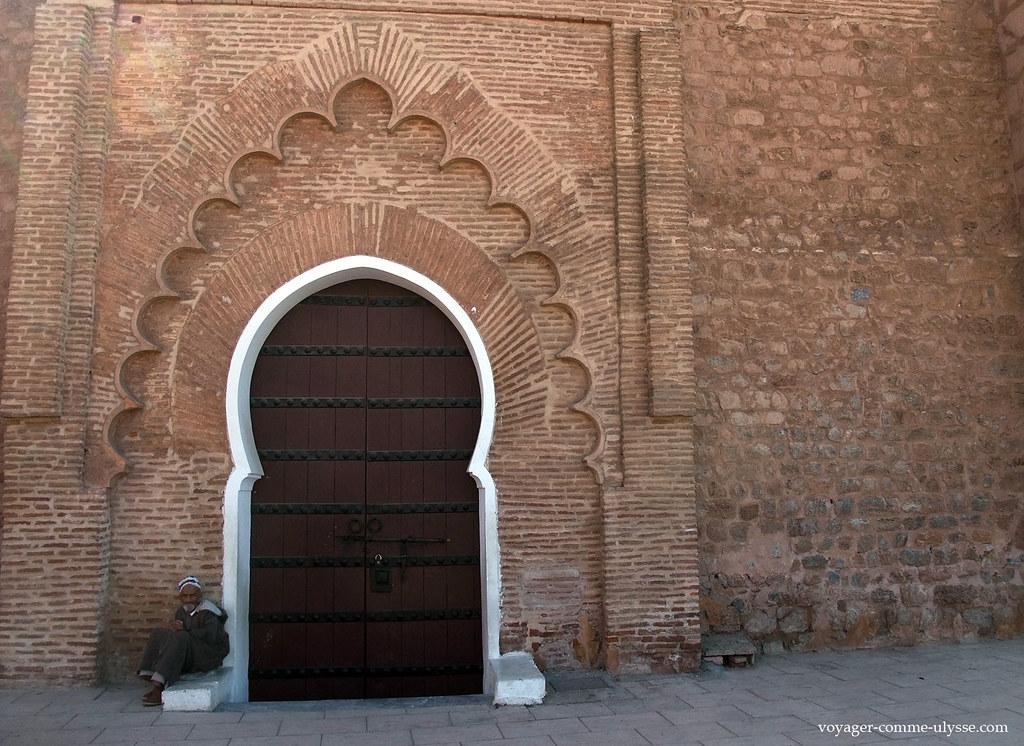 Porte d'entrée de la Mosquée