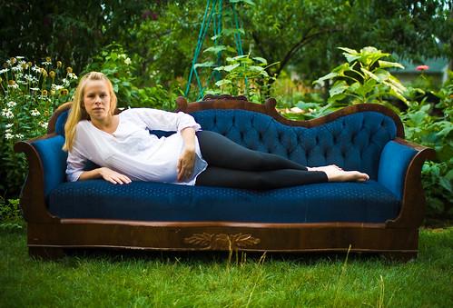 Lauren on couch 1 (1 of 1)