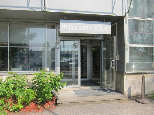 Entrance of Marimekko Oy