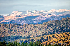 San Juan Mountain Evening (Gary Grossman (traveling for business)) Tags: sunset summer mountains landscape rockies colorado july shades nationalforest rockymountains sanjuans durango highcountry shading publicland vallecito sanjuanrange mountainrage