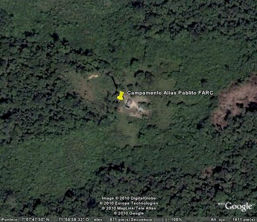 4834723358 1d4cd2452d Ubicando a las FARC con Google Earth