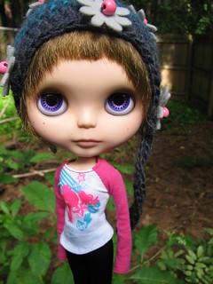 207/365 Teagan In her Favorite helmet