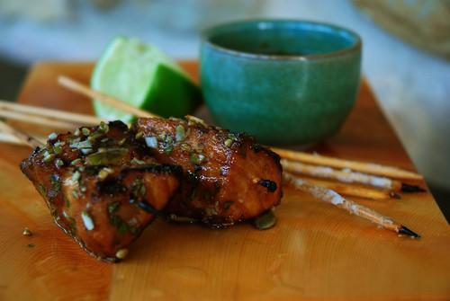 tamarind glazed swordfish