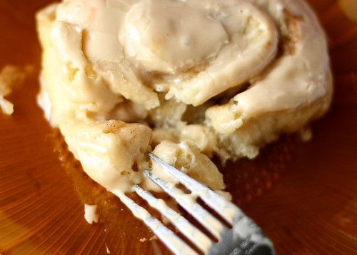 Pioneer Woman Cinnamon Rolls with Maple Cream Cheese Frosting! This cinnamon roll frosting will knock your socks off.