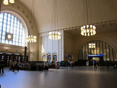 inside helsinki central station