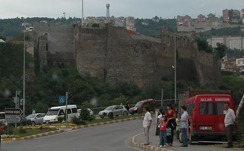Forteresse de Trabzon, détail