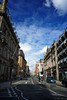 Dale Street (Matt W Atkinson) Tags: road city uk summer england sky liverpool downtown britain taxi sunny busy gb british pancake polarized 16mm dalestreet businessdistrict commercialquarter nex5