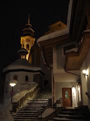 Church at night (stevenhoneyman) Tags: foothills mountain snow ski alps church night austria europe long exposure skiing spire alpine kaiser osterreich alp tyrol wilder salve hohe welt kufstein soll tyrolean skiwelt solllandl