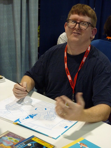 Tim Hensley - Fantagraphics at Comic-Con 2010