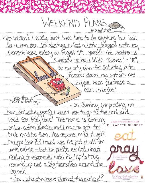 weekend plans 7 final