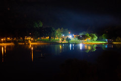 Night by the Lake