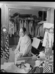 [Portrait of Duke Ellington, Paramount Theater, New York, N.Y., ca. Sept. 1946] (LOC)