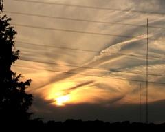 Sunset (adam_mcintosh) Tags: sky weather clouds evening sunsets powerlines lightandshadow summerevenings