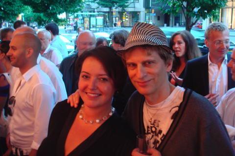 Camilla Lindberg & Oscar Swartz @ Stockholm Pride 2008