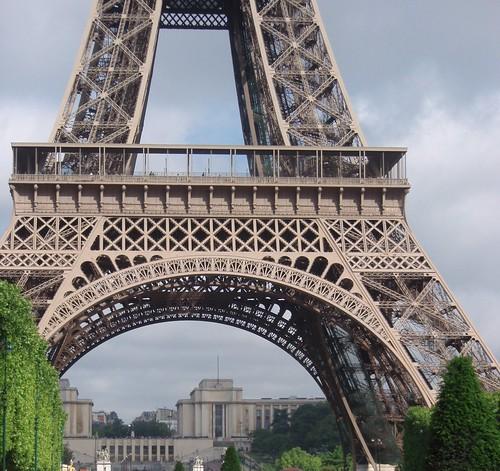 Torre Eiffel com Trocadero ao fundo