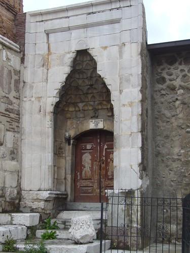 P1040853 Mosquée Arslanhane ou Ahi Ahi Şerafeddin, entrée