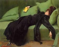 Ramon Casas, Jove decadent