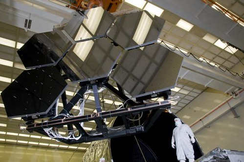 James Webb Space Telescope Mirrors (NASA, Marshall Center)