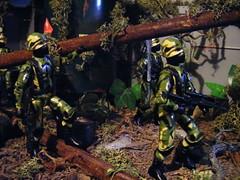 WELCOME TO THE JUNGLE (FLATLINE54) Tags: trooper black scale toys major action joe jungle figure custom gi hasbro 118 375 oring