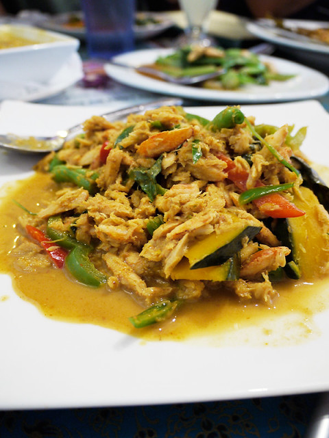 jitlada crab and pumpkin southern style curry