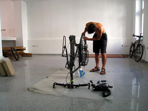 Working on bikes Sarajevo