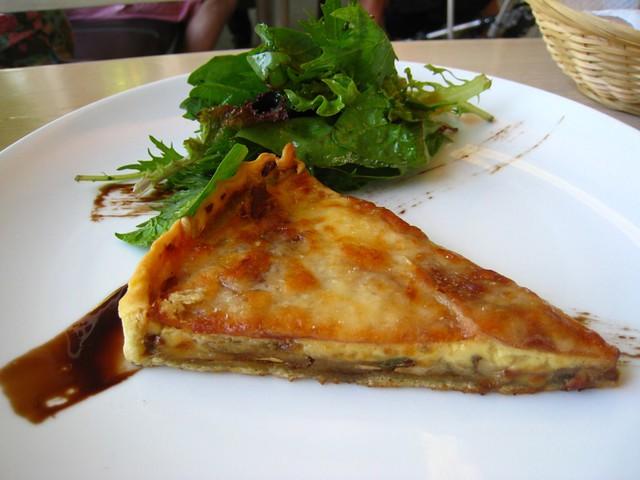 Ceps & Parma Ham Quiche