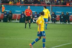 Warning (SdotCruz) Tags: chile brazil brasil southafrica football nikon fifa soccer worldcup mundial kaka johannesburg alves soweto 2010 ellispark d80 roundof16 nikond80 worldcup danialves southafrica2010 fifaworldcup2010