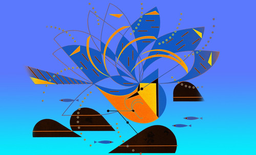 "Charley Harper • <a style=""font-size:0.8em;"" href=""http://www.flickr.com/photos/30735181@N00/4848330030/"" target=""_blank"">View on Flickr</a>"