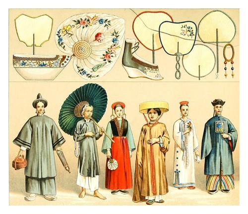024-Vestimentas de mujer china y accesorios -Geschichte des kostüms ...Racinet