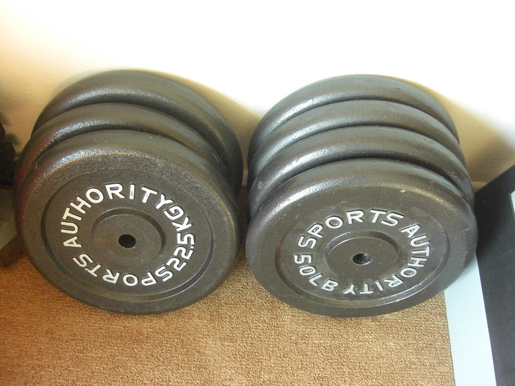 Sports Authority Free Weights