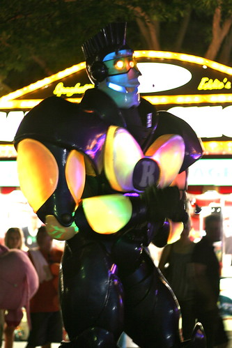 Robot at Fair
