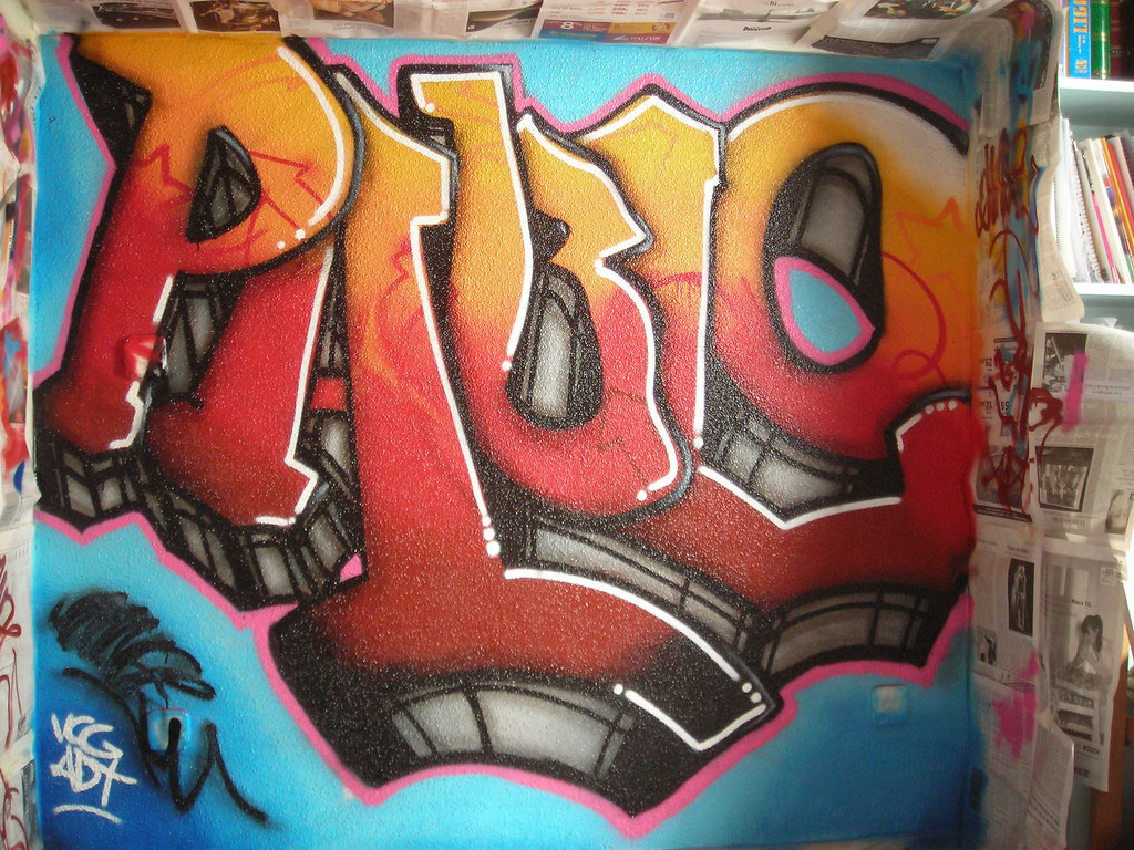 The world 39 s best photos of graffiti and nombre flickr - Habitacion graffiti ...