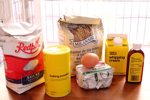 shortcake ingredients