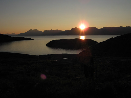 Sunset at henningsvær