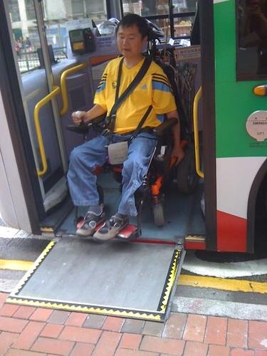 香港低底盤-前門下車