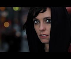 Mia. 85-100 (Andy. H) Tags: street portrait colour girl scarf bigeyes haze eyes nikon chinatown lashes bokeh chinese streetphotography streetportrait melbourne stranger mia 105mm d90 explored 100strangers 105mmnotthenewonethatireallywantbutthe30yearoldonethatiboughtoffebayiwishihadthenewdcsothatitwouldfocusandmeterformebutidont