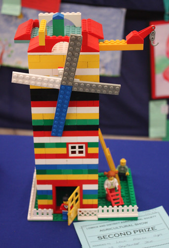 Lego windmill model
