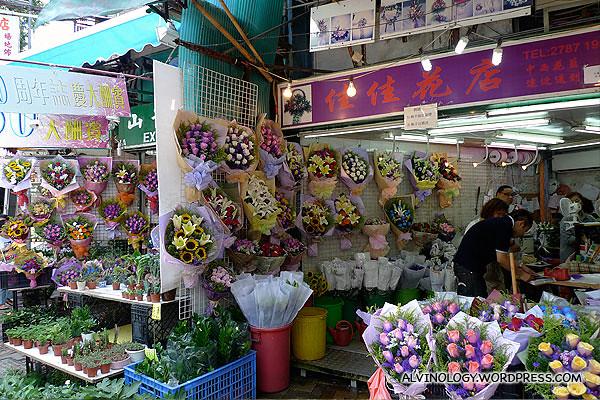 Ready flower bouquets