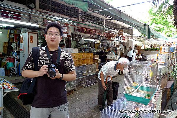 Me at Yuen Po Street