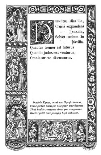015- Letra D -The celebrated Hans Holbein's alphabet of death, illustr. with old borders ...1856