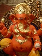 Ganesh Idol at Khatu's workshop (Rahul_shah) Tags: ganesh ganapati ganpati lalbaug ganeshotsav ganeshvisarjan ganeshutsav gajanan ganraj ganeshfestival2010 ganeshvisarjan2010 mumbaiganeshutsav