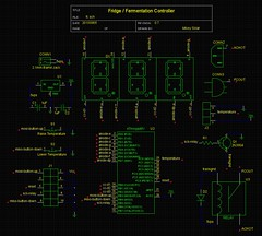 Fermentation / Fridge Controller Board Layout Started #2
