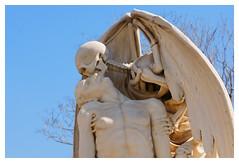 El bes de la mort _ detall